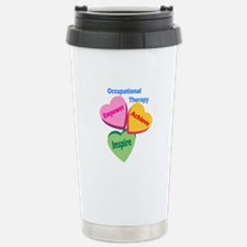 OT Multi Heart Stainless Steel Travel Mug