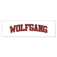 WOLFGANG Design Bumper Bumper Sticker