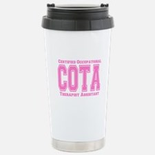 Pink Collegiate COTA Stainless Steel Travel Mug
