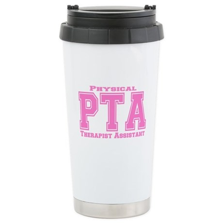 PTA Pink Stainless Steel Travel Mug