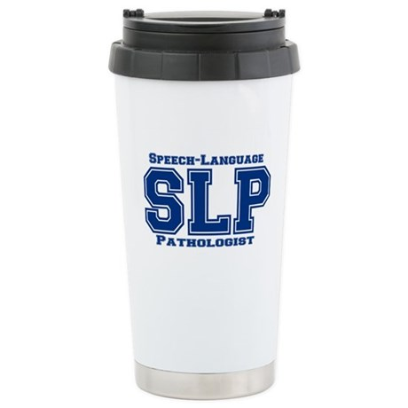 SLP (Blue) Stainless Steel Travel Mug