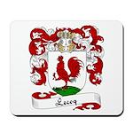 Lecoq Family Crest Mousepad
