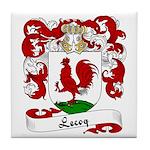 Lecoq Family Crest Tile Coaster