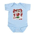 Lecoq Family Crest Infant Creeper