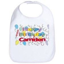 Happy Birthday Camden Bib
