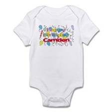 Happy Birthday Camden Infant Bodysuit