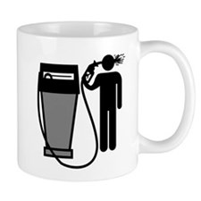 Gas Pump Suicide Mug