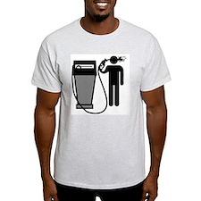 Gas Pump Suicide T-Shirt
