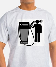 Gas Pump Suicide T-Shirt