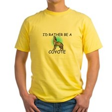 I'd Rather Be A Coyote T