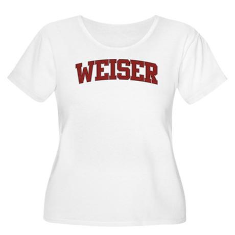 WEISER Design Women's Plus Size Scoop Neck T-Shirt