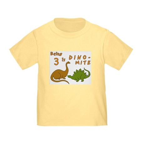 Dinosaurs for 3 Year Olds Toddler T-Shirt