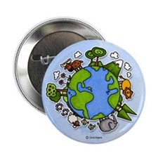 "Animal World 2.25"" Button"