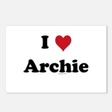 I love Archie Postcards (Package of 8)