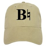B natural Baseball Cap