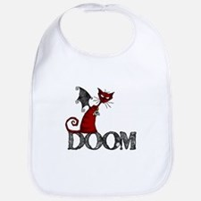 Doom Kitty Bib