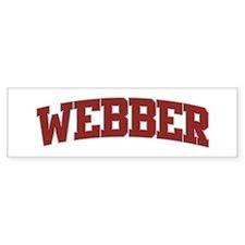 WEBBER Design Bumper Car Sticker