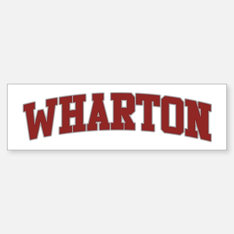 Wharton bumper stickers car stickers decals more for Wharton cad