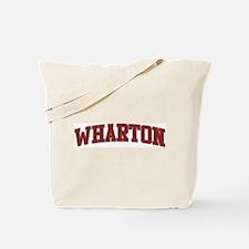 WHARTON Design Tote Bag