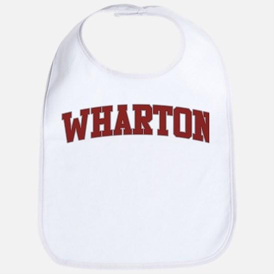 WHARTON Design Bib