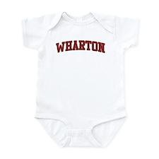 WHARTON Design Onesie