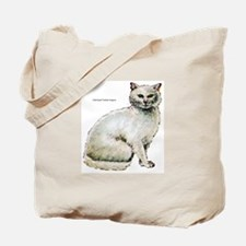 Turkish Angora Cat Tote Bag