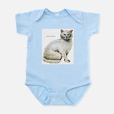 Turkish Angora Cat Infant Creeper