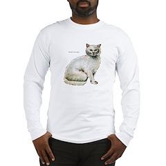 Turkish Angora Cat Long Sleeve T-Shirt