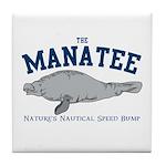 Manatee Tile Coaster