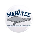 "Manatee 3.5"" Button (100 pack)"