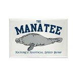 Manatee Rectangle Magnet (10 pack)