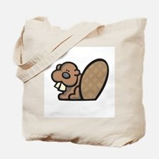 Cute Little Beaver Tote Bag