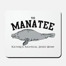 Manatee BW Mousepad