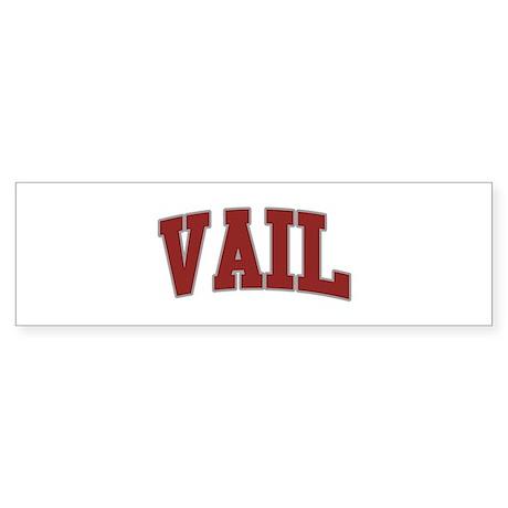 VAIL Design Bumper Sticker