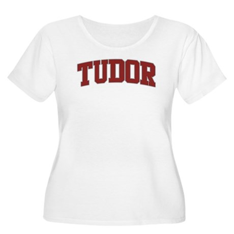 TUDOR Design Women's Plus Size Scoop Neck T-Shirt