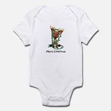 Merry Christmas (Reindeer) Infant Bodysuit