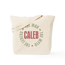 Caleb Man Myth Legend Tote Bag