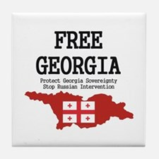 Free Georgia Tile Coaster