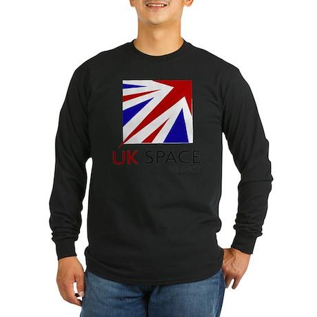 UK Space Agency Long Sleeve Dark T-Shirt