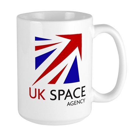 United Kingdom Space Agency Large Mug