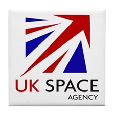 United Kingdom Space Agency Tile Coaster