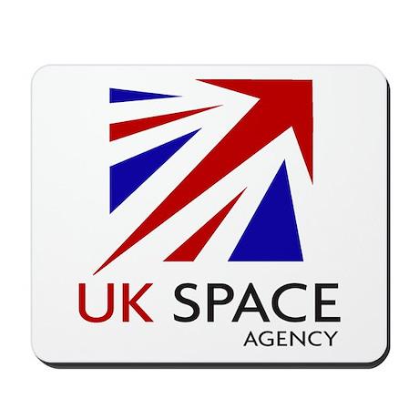 United Kingdom Space Agency Mousepad