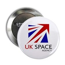 "United Kingdom Space Agency 2.25"" Button"