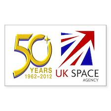 United Kingdom Space Agency Decal
