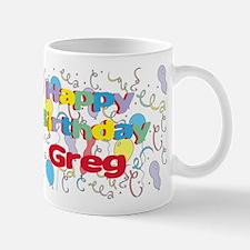 Happy Birthday Greg Mug