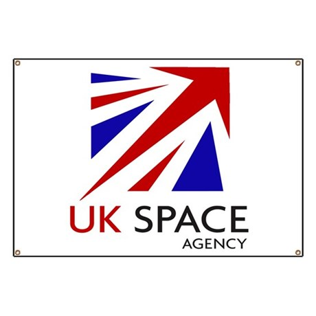 United Kingdom Space Agency Banner