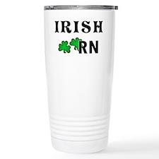 Irish Nurse RN Travel Coffee Mug