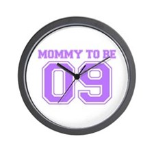Mommy To Be 09 (Purple) Wall Clock