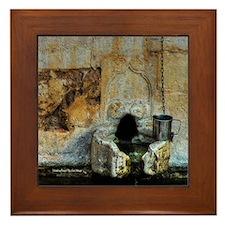 Drinking Mug, Crete Framed Tile