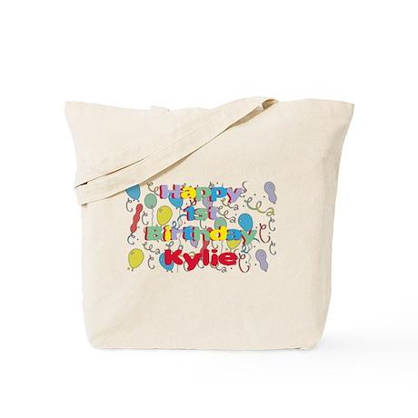 Kylie's 1st Birthday Tote Bag